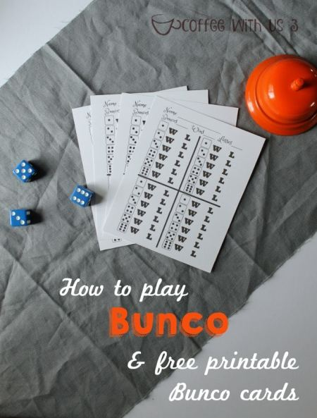 Find out how to play Bunco, and download free printable Bunco cards!