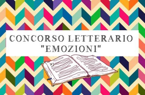 """Concorso letterario """"Emozioni"""""""