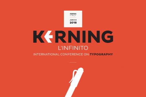 Kerning, la prima conferenza italiana sulla tipografia