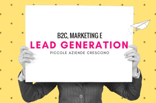Lead generation e b2c