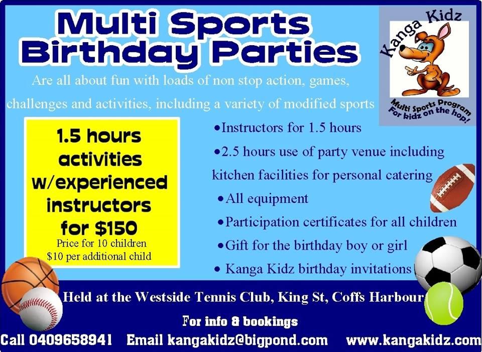 Party Ideas For Coffs Kids Coffsforkids Com