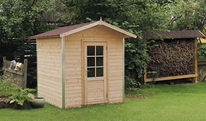 abri de jardin bois 4m2