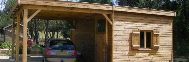 abri de jardin bois traité