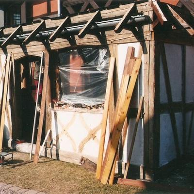 construire veranda bois
