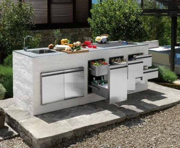 amenagement barbecue exterieur