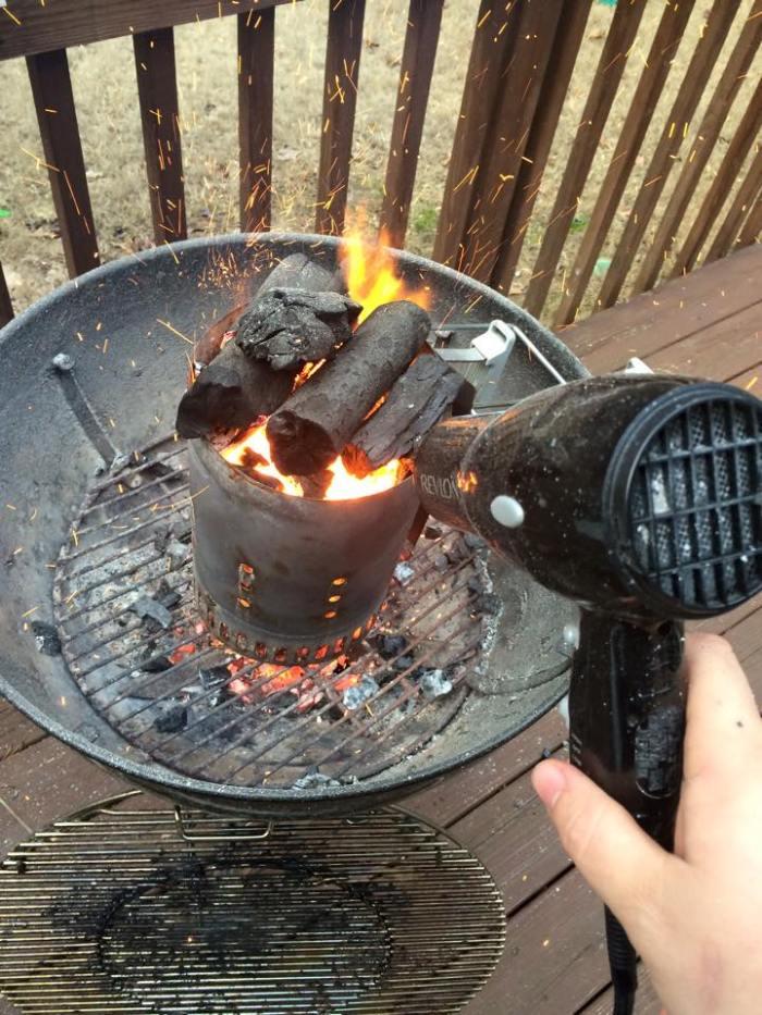 barbecue au propane