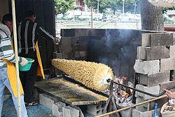 broche electrique pour barbecue