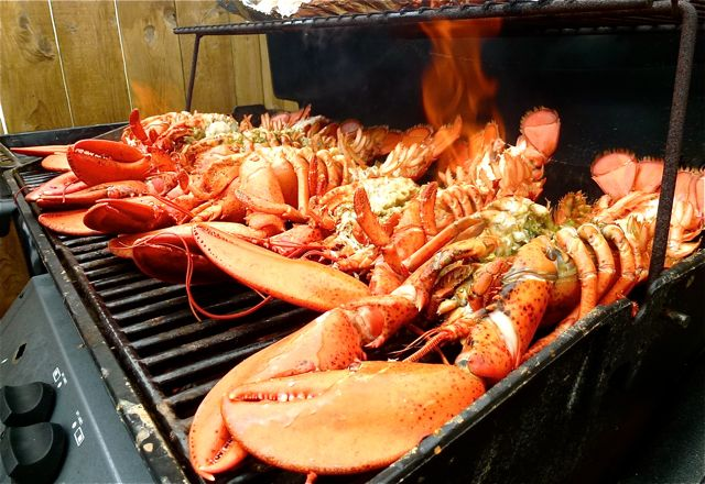 brochette de poisson au barbecue