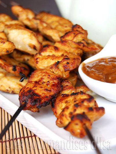 brochette poulet