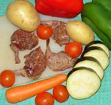 brochettes de canard au barbecue