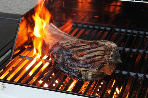 cote de boeuf au barbecue