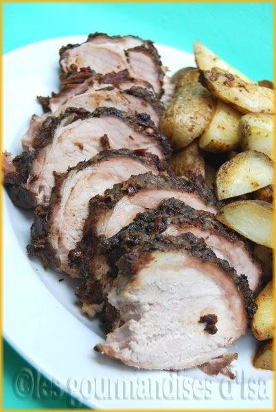 cuisson cote de porc barbecue