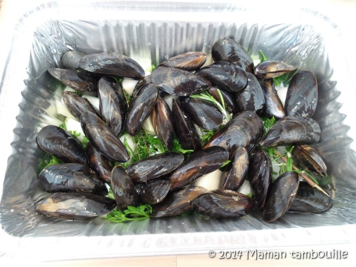 moules au barbecue