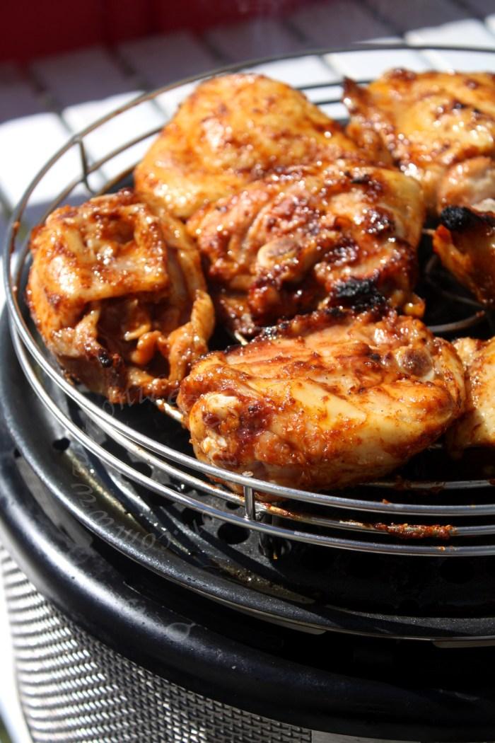 poulet grillé barbecue