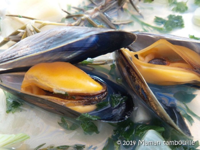 recette moules barbecue