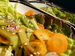recette salade pour accompagner barbecue