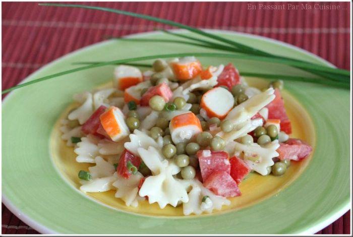 salade de pates pour accompagner un barbecue
