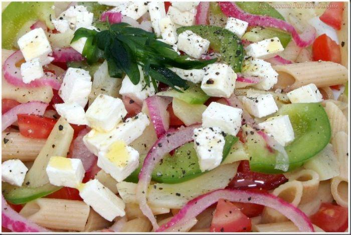 salade de pates pour barbecue
