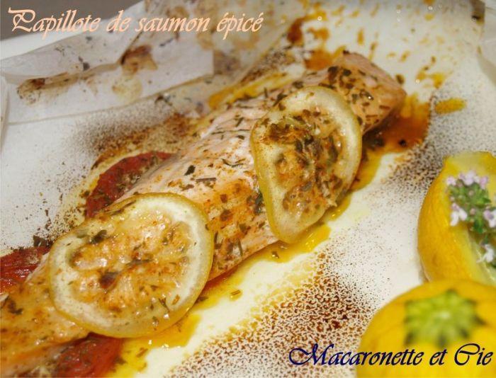pavé de saumon au four