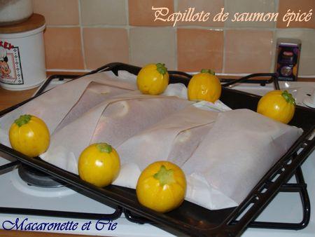 temps de cuisson papillote de saumon