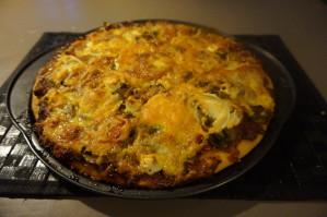 recette de la pâte a pizza facile