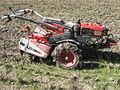 mini tracteur taille haie