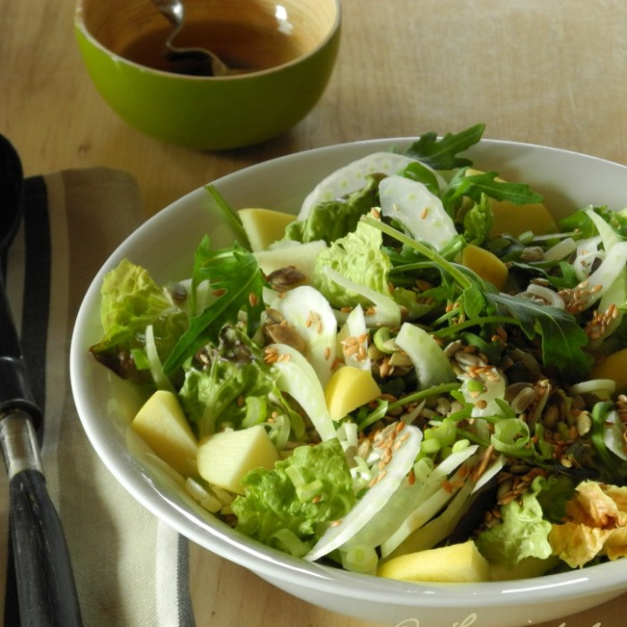 salade de pâtes froides simple