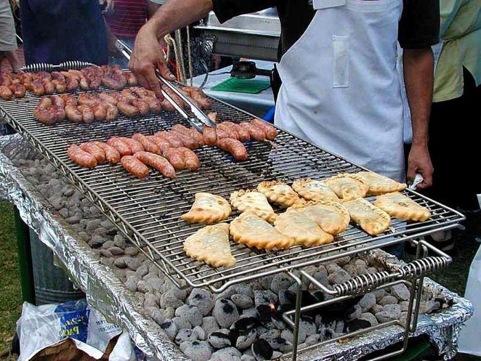 viande a griller au barbecue