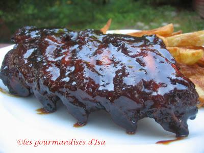 recette de ribs de porc