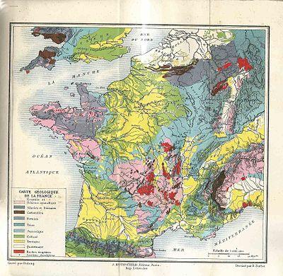 carte de france très détaillée