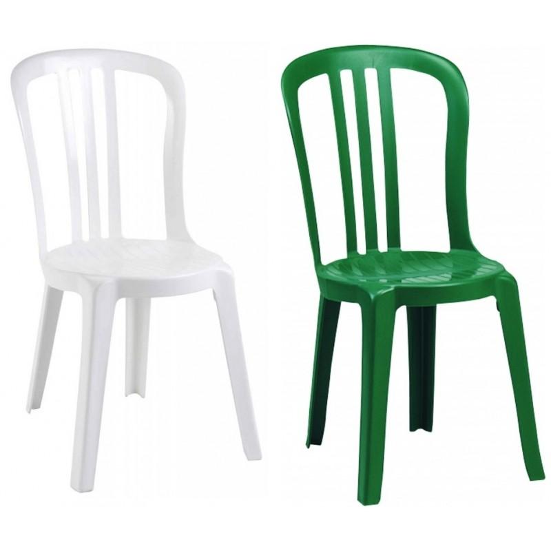 chaise plastique monobloc miami