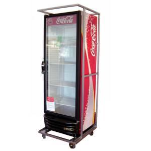 Beschermcontainers en transportkarren voor koelkasten