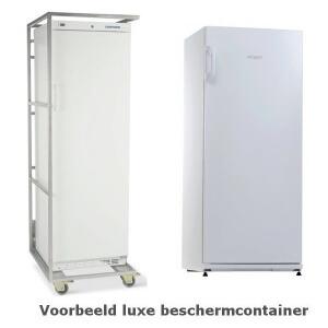 Exquisit C290 wit horeca koelkast voorbeeld luxe beschermcontainer