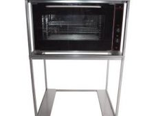 Hete lucht oven met verrijdbaar frame