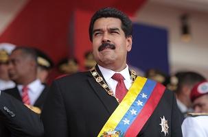 Il presidente Maduro