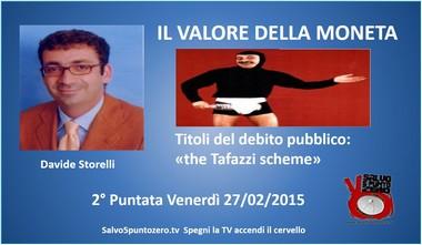 Locandina Il valore della moneta Davide Storelli