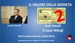 Il valore della moneta Davide Storelli