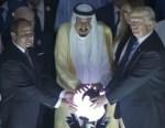 Trump-Salman-al-Sissi-globe