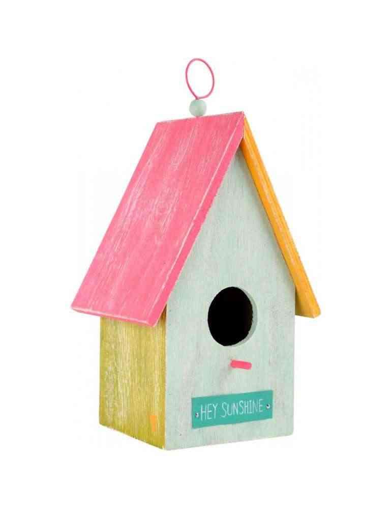 mangeoire nichoir pour oiseaux en bois
