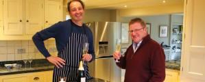 Galton Blackiston and Godwick Turkeys Video Shoot