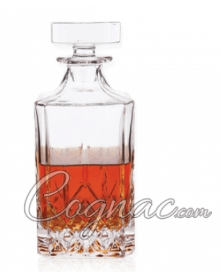 admiral cognac decanter