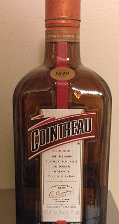 cointreau bottle