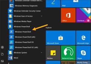 Microsoft Windows PowerShell