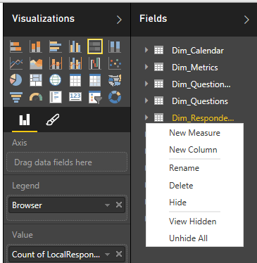 Power BI - Create a new measure