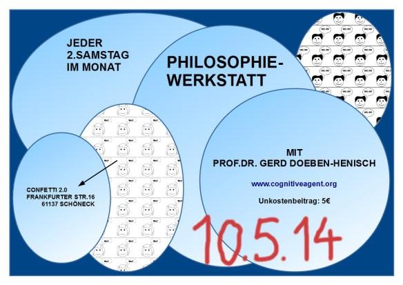 Einladung Philosophiewerkstatt am 10.Mai 2014, 19:00h