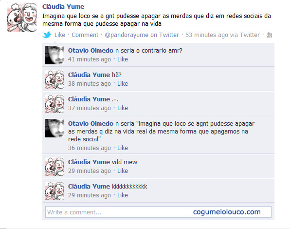 facebookfail Gênios do facebook