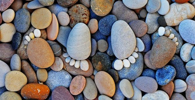 pedras 2 Pegadas de Pedra (Por Iain Blake)