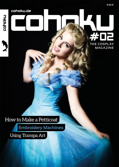 Cohaku #02 - The Cosplay Magazine - Cover