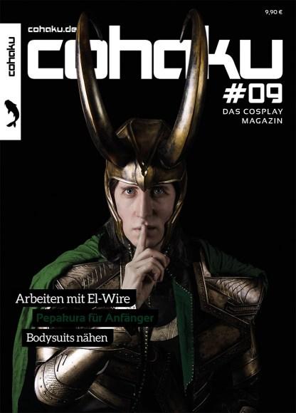 """Fotograf: Nick Acott - Model: Benjamin """"Enja Cosplay"""" Hunt - Charakter: Loki (The Avengers)"""