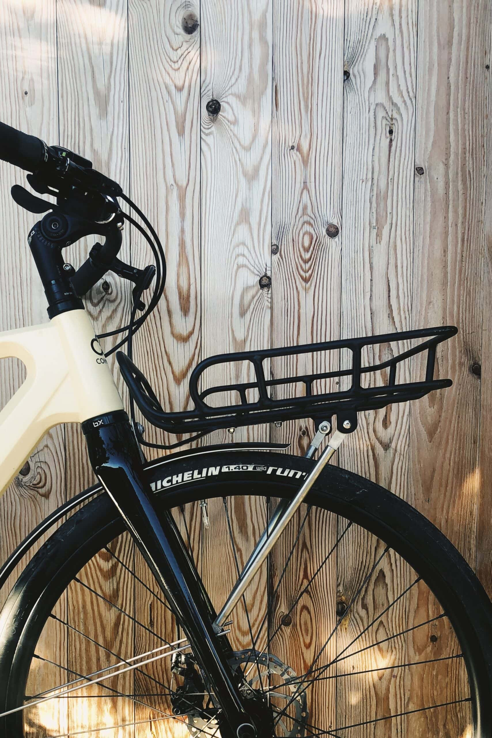 Bicycle front rack